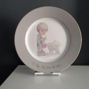 Precious Moments Collector Plate
